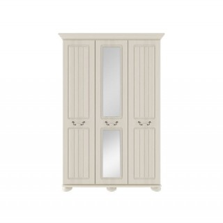 Casa Chloe Tall 3 Door Mirror Wardrobe