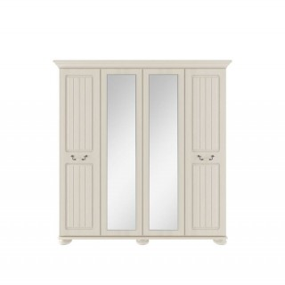 Casa Chloe 4 Door Mirror Wardrobe