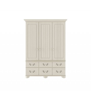 Casa Chloe 3 Door/ 6 Drawer Combi Wardrobe