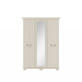 Casa Chloe 3 Door Mirror Wardrobe