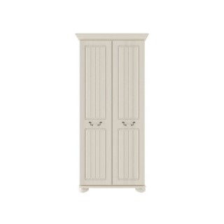 Casa Chloe 2 Door Robe Double, Antique Cream