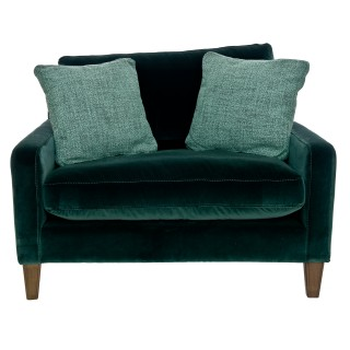 Alexander & James Hoxton Snuggler Chair