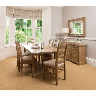Casa Windrush Medium Extending Table & 6 Chairs
