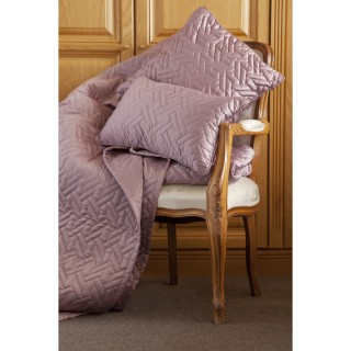 Belledorm Valencia Throw Mulberry 260x260