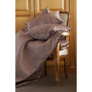 Belledorm Valencia Throw Mocha 260x260