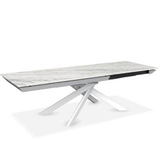 Calligaris Eclisse Extending Dining Table, White