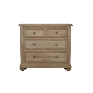 Casa Hunter 2+2 Chest Oak 4 Draw