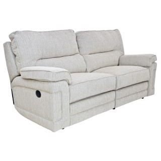 Casa Plymouth 3 Seater Pwr Rec Sofa 3 Seat, Anya Natural