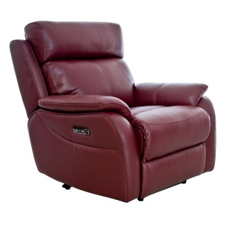 Casa Shiraz Power Recliner Chair with Tilt Head Rest
