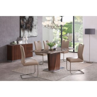 Casa Rossini Table & 6 Chairs