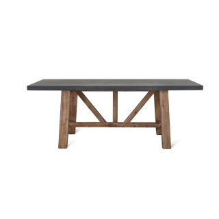 Garden Trading Large Chilson Table, Cement Fibre
