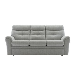 G Plan Upholstery Newton 3 Seater Static 3 Seat, Athena Mist