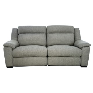 Casa Dallas 2.5 Seater Power Recliner Fabric Sofa