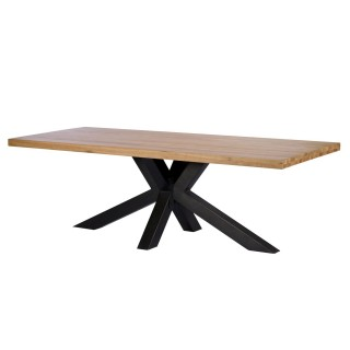 Casa Balham Dining Table 200cm Table, Natural Oak