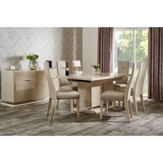 Casa Venezia 210cm Extending Table & 6 Dining Chairs