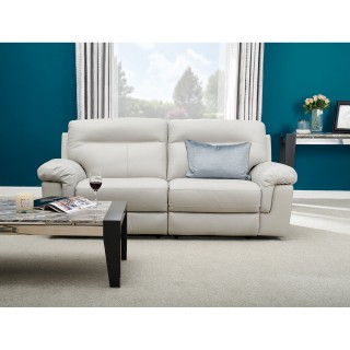 Casa Louis Manual Recliner Sofa, 2.5 Seater
