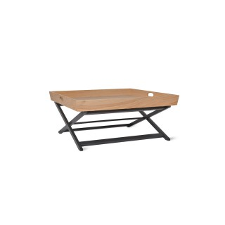 Garden Trading Butlers Coffee Table, Square, Carbon