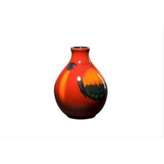 Poole Pottery 12.5cm Bud Vase Volcano