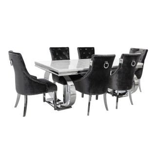 Casa Islington Dining Table & 6 Chairs
