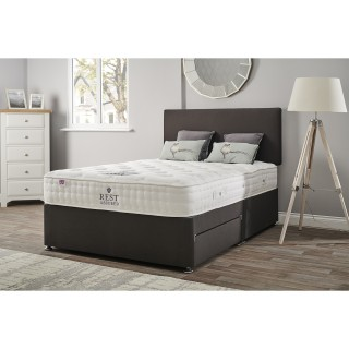 Rest Assured Camille 1400 Double 2 Drawer Divan Set