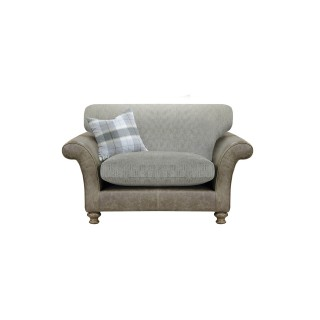 Alexander & James Lawrence Snuggle Standard Back Chair, Brown