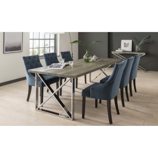 Casa Knightsbridge Table & 6 Chairs Set