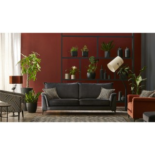 Casa Tosca 2 Seater Traditional Back Fabric Sofa