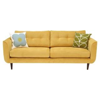Orla Kiely Linden Large Fabric Sofa, Tolka Dandelion