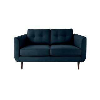 Orla Kiely Linden Small Fabric Sofa, Glyde Indigo