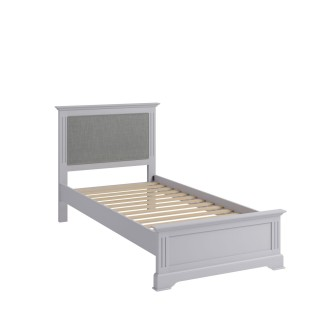Casa Dover Bedframe, Single, Grey