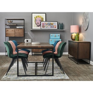Casa Brisbane Fixed Table & 6 Chairs