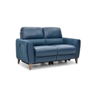 Casa Archie 2 Str Ratchet Pwr Rec 2 Seat, Ocean Lthr & Altara Denim Fab