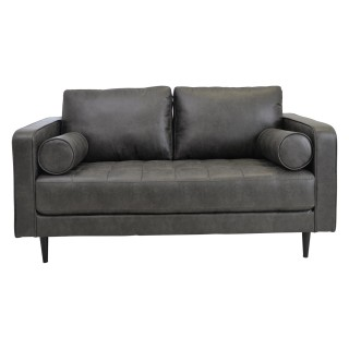 Casa Soho 3 Seater Leather Sofa