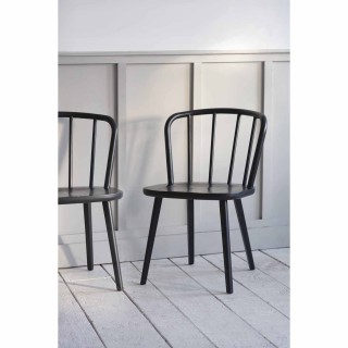 Garden Trading Pair Of Uley Chairs, Ash