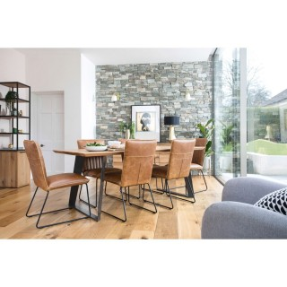 Balham 180cm Table & Four Chairs Dining Set