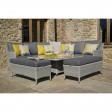 Bramblecrest Outdoor Cushion, Harlequin Yellow