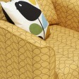 Orla Kiely Linden Chair (print All Over), Stem Dandelion Gold