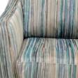 Casa Seattle Fabric Accent Chair, Channelle Granis Aqua