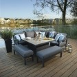 Bramblecrest La Rochelle Modular Sofa & Firepit Table Set