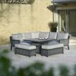 Bramblecrest Portofino Square Modular Sofa Set
