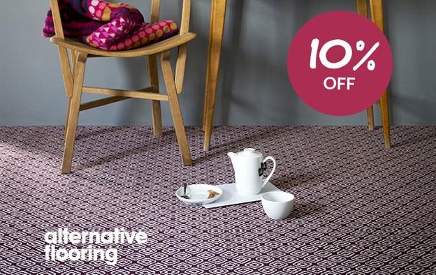 10% OFF Alternative Flooring