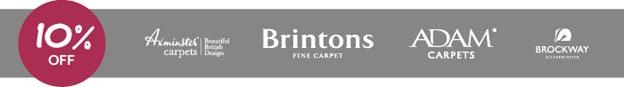 10% OFF Branded Carpets at Park Furnishers