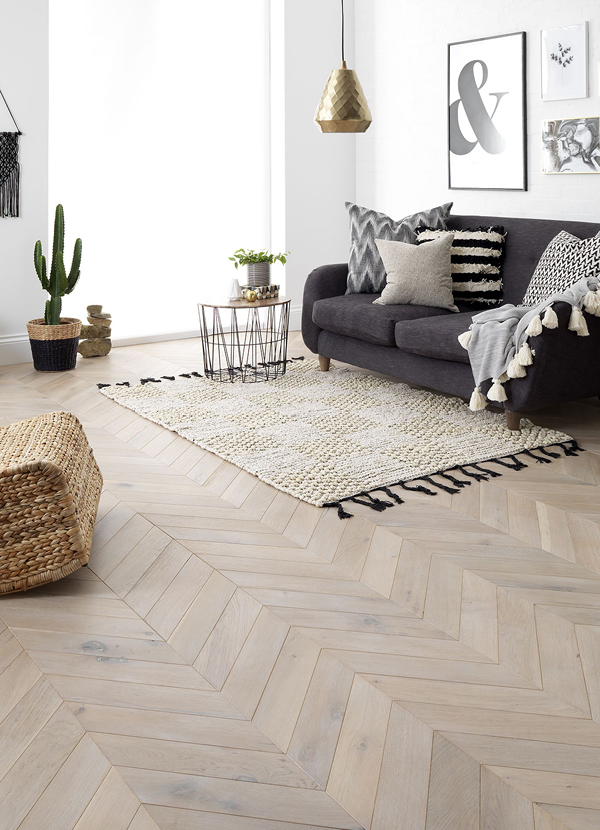 Parquet Flooring at Park Furnishers