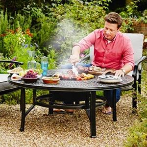 Jamie Oliver Set 4 Seater Firepit
