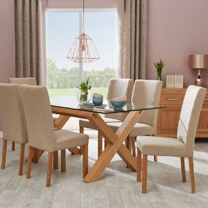 Toledo Extending Table & Six Chairs
