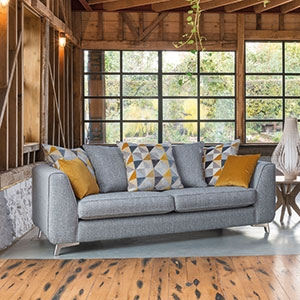 Copenhagen Grand Pillow Back Sofa