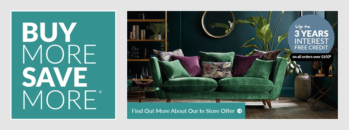 Save 10% when you spend £750 or more