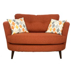 Selborne Oval Cuddler Chair
