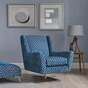 Flora Swivel Accent Chair