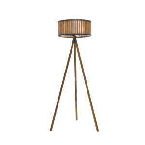 Nautiq Tripod Floor Lamp, Brow
